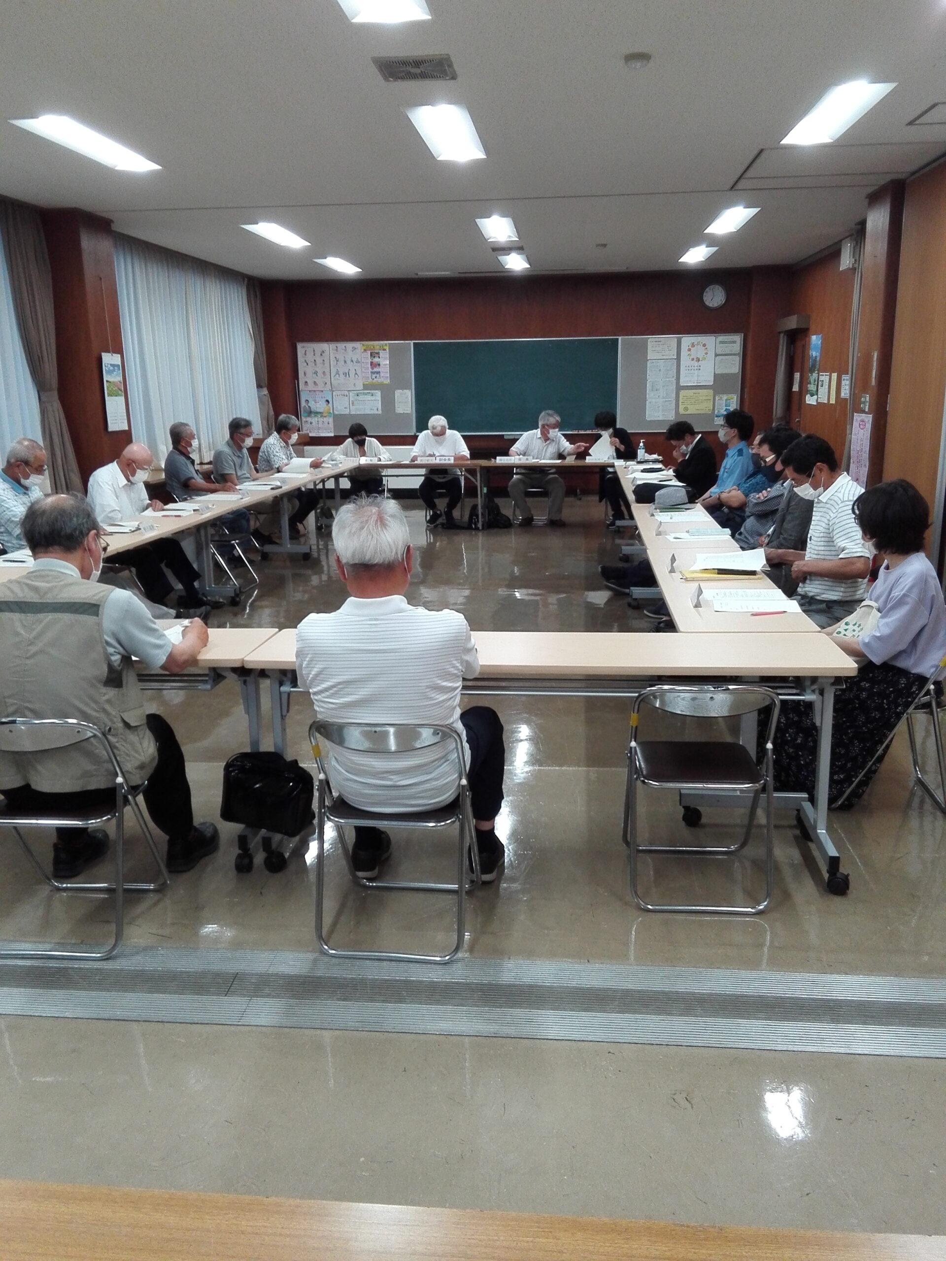 下野地区まちづくり委員会開催